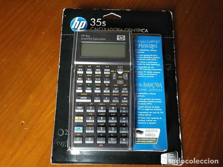 Antigüedades: HP 35S RPN CALCULADORA CIENTÍFICA HEWLETT PACKARD HP-35S PROGRAMABLE EN BLISTER SIN ABRIR SCIENTIFIC - Foto 81 - 268752579