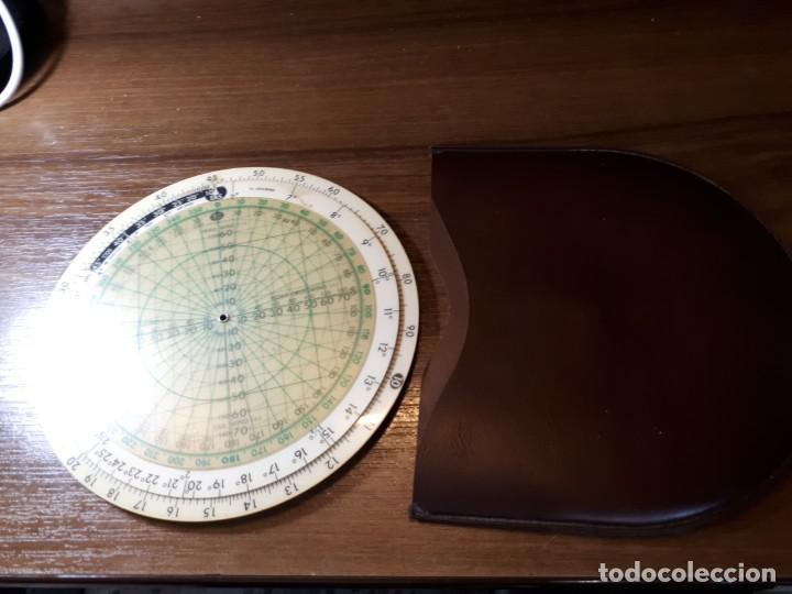 Antigüedades: ANTIGUA REGLA CÁLCULO DE AVIACIÓN JEPPESEN COMPUTER CR3 - Foto 9 - 268807754