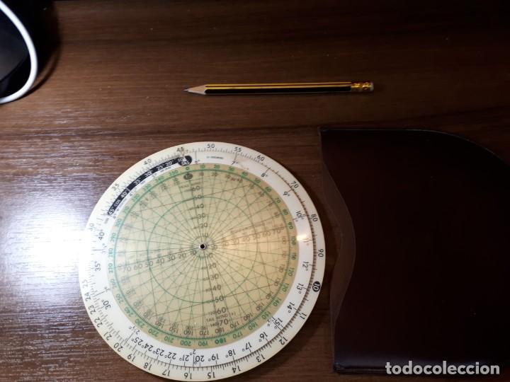 Antigüedades: ANTIGUA REGLA CÁLCULO DE AVIACIÓN JEPPESEN COMPUTER CR3 - Foto 10 - 268807754