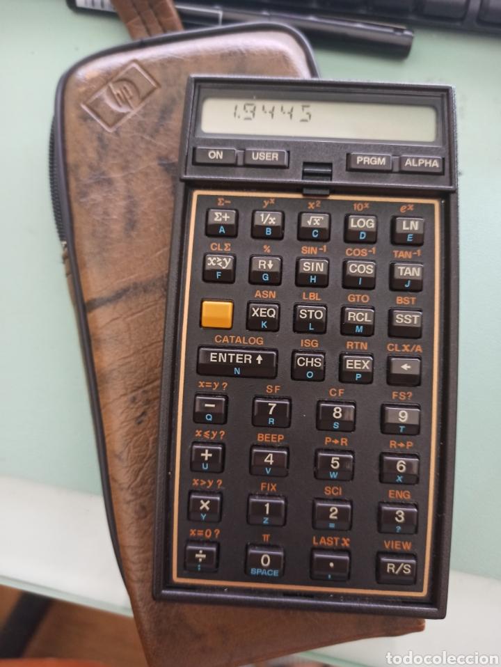 CALCULADORA HP - 41CX (INCLUYE MODULO STRUCTURAL ANALYSIS PACK CON MANUALES) (Antigüedades - Técnicas - Aparatos de Cálculo - Calculadoras Antiguas)
