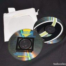 Antigüedades: 2 CD´S SOFTWARE VINTAGE BIT WARE WINDOWS 95/98 Y WIRELESS NETWORK CARD ADAPTER. Lote 268819204