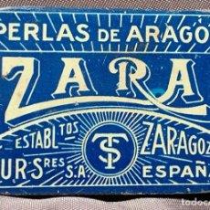 Antigüedades: PERLAS DE ARAGÓN, ZARA. ZARAGOZA, AÑOS 30. Lote 268875224
