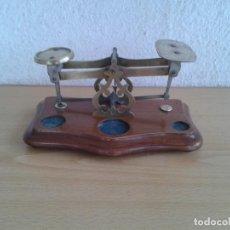 Antigüedades: PEQUEÑA BALANZA O PESO PARA PESAR CARTAS. Lote 268896204