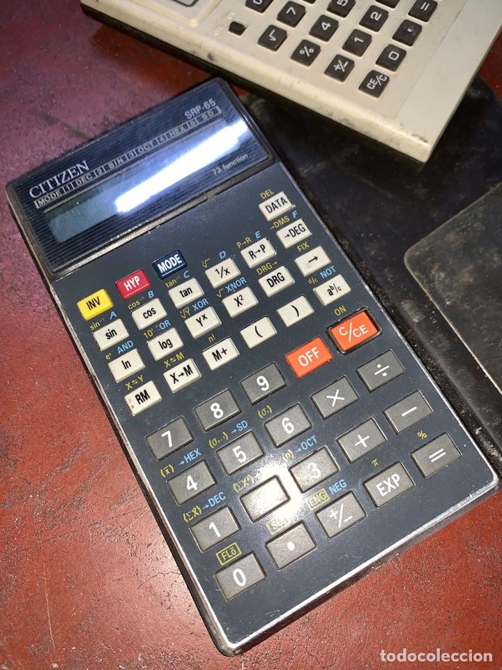 Antigüedades: Calculadora Citizen SRP-65 - Foto 2 - 268906354