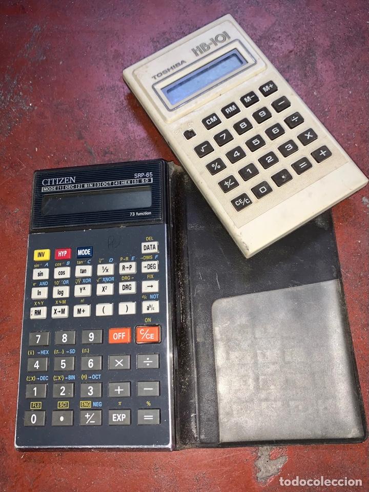 CALCULADORA CITIZEN SRP-65 (Antigüedades - Técnicas - Aparatos de Cálculo - Calculadoras Antiguas)