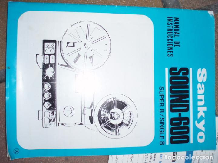 Antigüedades: PROYECTOR CINE SUPER 8 - Foto 10 - 268952999