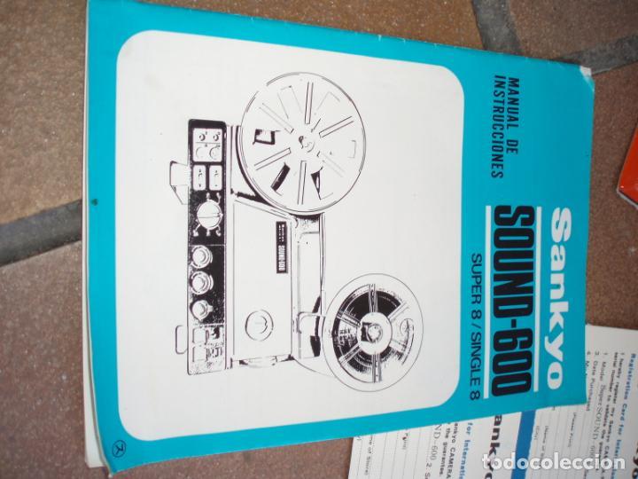 Antigüedades: PROYECTOR CINE SUPER 8 - Foto 12 - 268952999