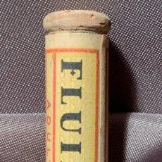 Antigüedades: COMPRIMIDOS DE FLUIPYT. CON CONTENIDO. BARCELONA, AÑOS 40-50. Lote 268963644