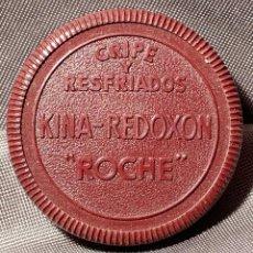 """Antigüedades: CAJA DE BAQUELITA DE KINA REDOXON """"ROCHE"""". AÑOS 40. Lote 268997644"""