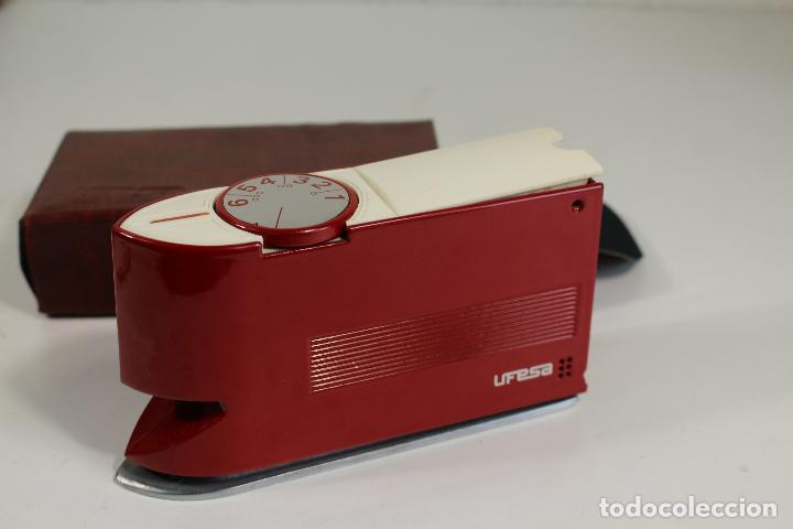 Antigüedades: ufesa - plancha automatica de viaje modelo 28 - Foto 6 - 269026224