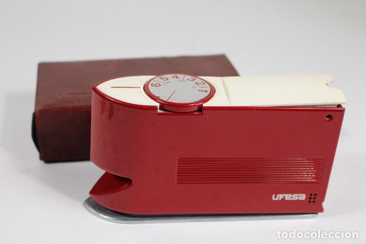 UFESA - PLANCHA AUTOMATICA DE VIAJE MODELO 28 (Antigüedades - Técnicas - Planchas Antiguas - Varios)