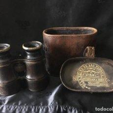 Antigüedades: ANTIGUOS BINOCULARES CON FUNDA, PERTENECÍAN A UN INDIANO EN CUBA. Lote 269033404