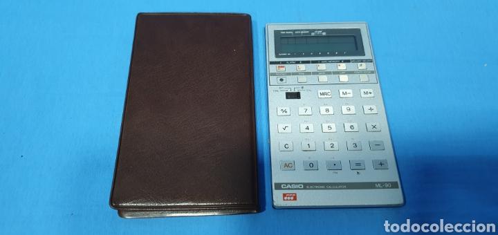 Antigüedades: CALCULADORA DIGITAL CASIO ML-90 - NO FUNCIONA - Foto 4 - 269078588