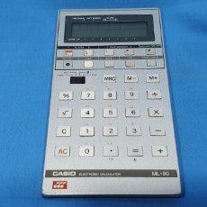 Antigüedades: CALCULADORA DIGITAL CASIO ML-90 - NO FUNCIONA. Lote 269078588