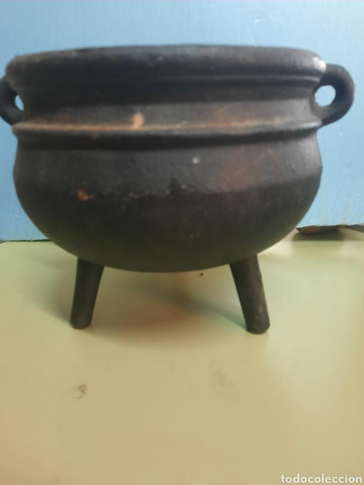 Antigüedades: Caldero olla gallega no tiene tapa - Foto 2 - 269078738