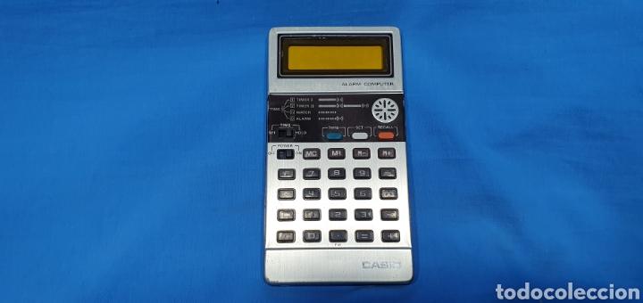 CALCULADORA DIGITAL CASIO - ALARM COMPUTER - NO FUNCIONA (Antigüedades - Técnicas - Aparatos de Cálculo - Calculadoras Antiguas)