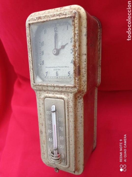 Antigüedades: ANTIGUO TERMOSTATO ELÉCTRICO, MINNEAPOLIS-HONEY WELL ELECTRIC U.S.A. AÑO 1920. - Foto 3 - 269084278