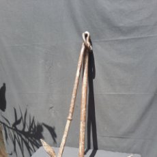Antigüedades: ANTIGUA ANCLA GRANDE DE HIERRO. Lote 269101493