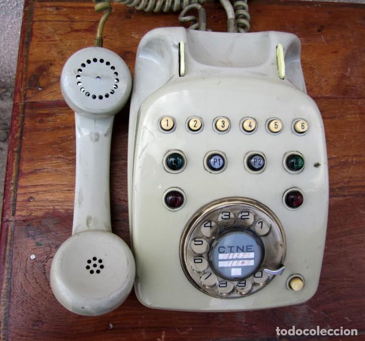 Teléfonos: Telefono gris de CNTE, de 2 lineas de entrada, 6 de salida - Foto 6 - 269118538