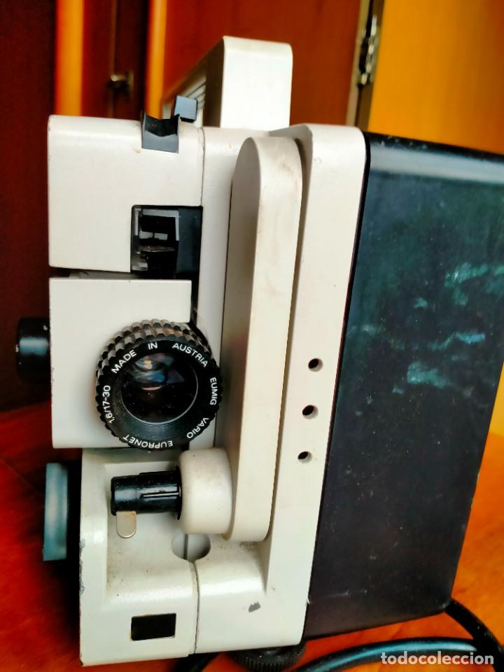 Antigüedades: Proyector de cine SUPER 8 EUMIG MARK 60 - Foto 2 - 269161153