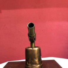 Antigüedades: ANTIGUO SOPLETE DE BRONCE RARO. VER FOTOS. Lote 269202063