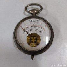 Antigüedades: VOLTIMETRO DE BOLSILLO (3575/21). Lote 269379473