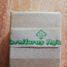 Antigüedades: FORNITURAS ROJO. Lote 269401138