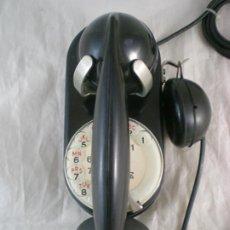 Teléfonos: ANTIGUO TELEFONO PARED - COMPAGNIE GENERALE DE CONSTRUCTIONS TELEPHONIQUES - AÑOS 50 - FUNCIONA. Lote 269487553
