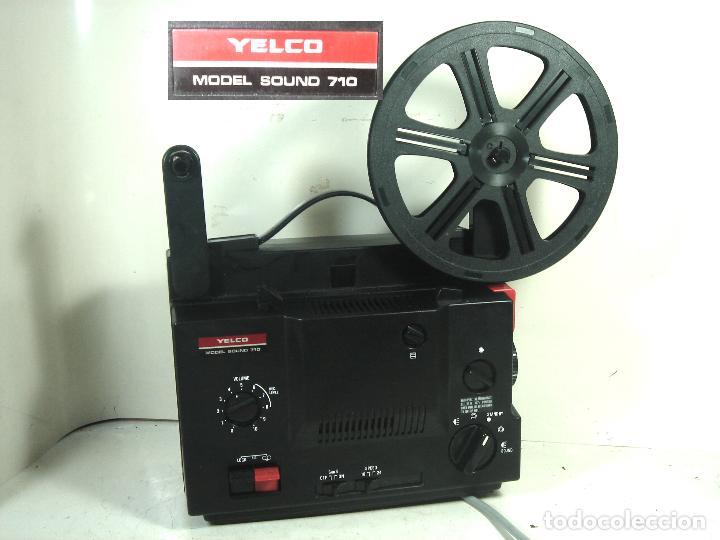 PROYECTOR SUPER 8 SONORO-YELCO SOUND 701-YAMAWA JAPAN 1975- MOTOR FUNCIONA-MM 8MM CINE ANTIGUO (Antigüedades - Técnicas - Aparatos de Cine Antiguo - Proyectores Antiguos)