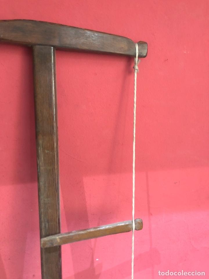 Antigüedades: Arco de sierra de madera s.XVIII -ver fotos - Foto 2 - 269624428