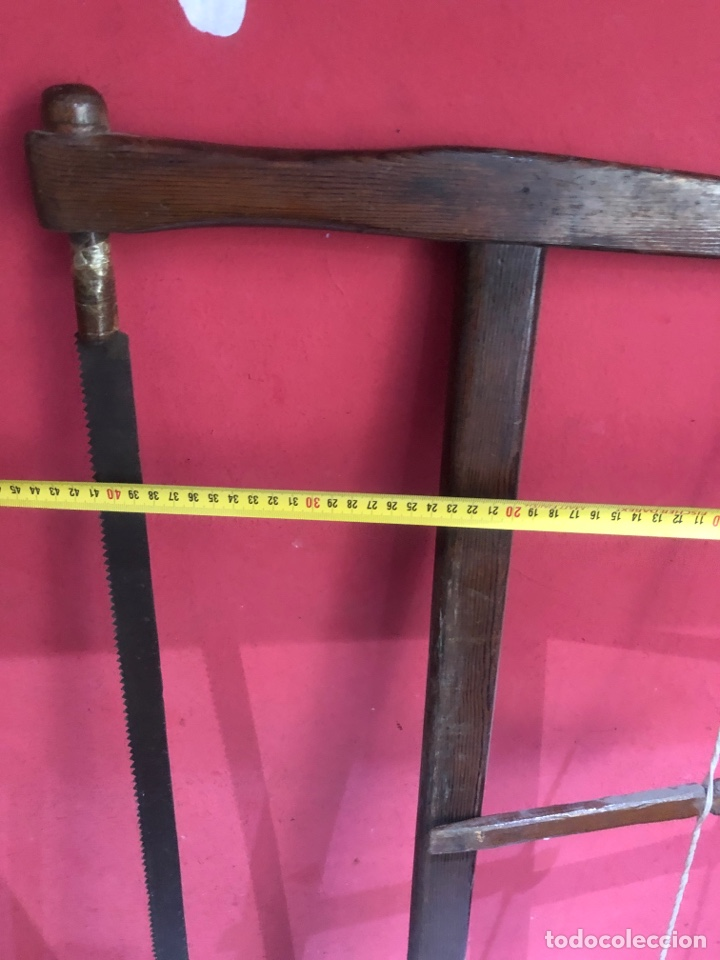 Antigüedades: Arco de sierra de madera s.XVIII -ver fotos - Foto 4 - 269624428
