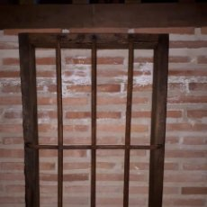 Antigüedades: MUY BONITA Y CENTENARIA REJA SIGLO XVIII DE HIERRO FORJADO. Lote 269703683