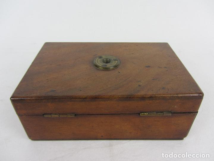 Antigüedades: Microscopio inglés de campo, para botánica o entomoligía. hacia 1840 - 1860 - Foto 14 - 269962143