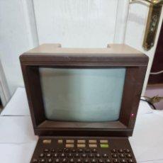Antigüedades: PC ORDENADOR MONITOR TERMINAL COMPUTADORA BANCO SANTADER. Lote 270121423