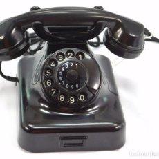 Teléfonos: TELÉFONO DE BAQUELITA MARCA W-48 -TOTALMENTE RESTAURADO FUNCIONANDO -68965/4 - AGOSTO 1955. Lote 270355933