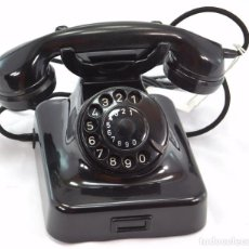 Teléfonos: TELÉFONO DE BAQUELITA MARCA W-48 -TOTALMENTE RESTAURADO FUNCIONANDO - 68965/5 AÑO 1963. Lote 270363133