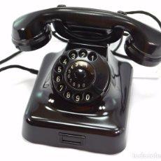 Teléfonos: TELÉFONO DE BAQUELITA MARCA W-48 -TOTALMENTE RESTAURADO FUNCIONANDO - 68965/6 - NOVIEMBRE 1959. Lote 270363708