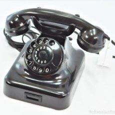 Teléfonos: TELÉFONO DE BAQUELITA MARCA W-48 -TOTALMENTE RESTAURADO FUNCIONANDO - 68965/10 - SEPTIEMBRE 1960. Lote 270365203
