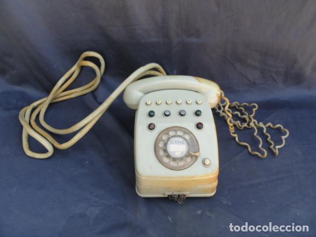TELÉFONO CENTRALITA CNTE. CITESA MÁLAGA. (Antigüedades - Técnicas - Teléfonos Antiguos)