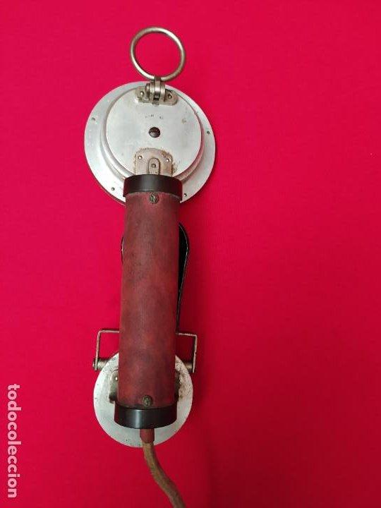 Teléfonos: Teléfono militar 1905 E. Zwietusch & de Co. Alemania - Foto 8 - 270398668