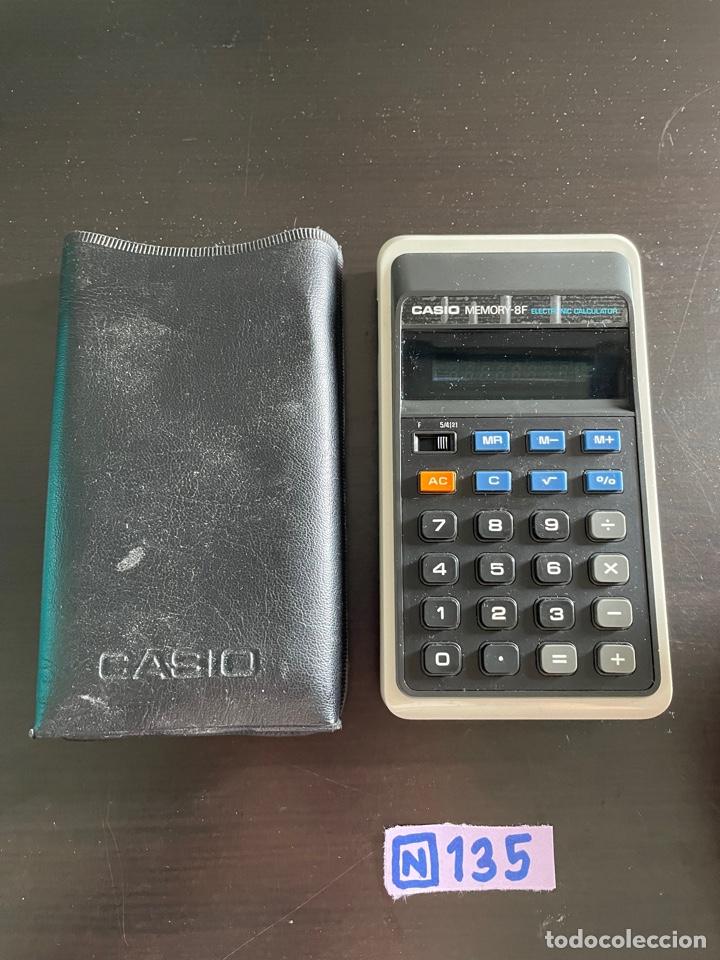 CALCULADORA CASIO (Antigüedades - Técnicas - Aparatos de Cálculo - Calculadoras Antiguas)