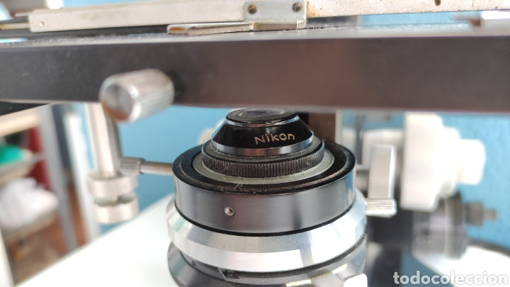 Antigüedades: MICROSCOPIO NIKON SERIE E SKE ? - Foto 3 - 271049478