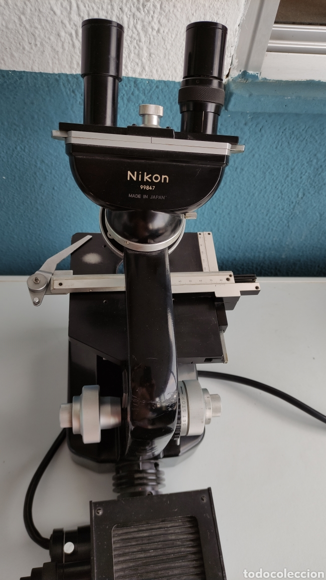 Antigüedades: MICROSCOPIO NIKON SERIE E SKE ? - Foto 4 - 271049478