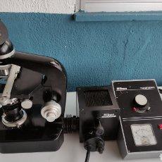 Antigüedades: MICROSCOPIO NIKON SERIE E SKE ?. Lote 271049478