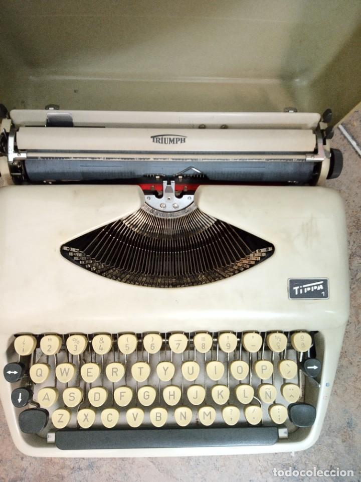 Antigüedades: Máquina de escribir Triumph Tippa 1 - Foto 6 - 222597352