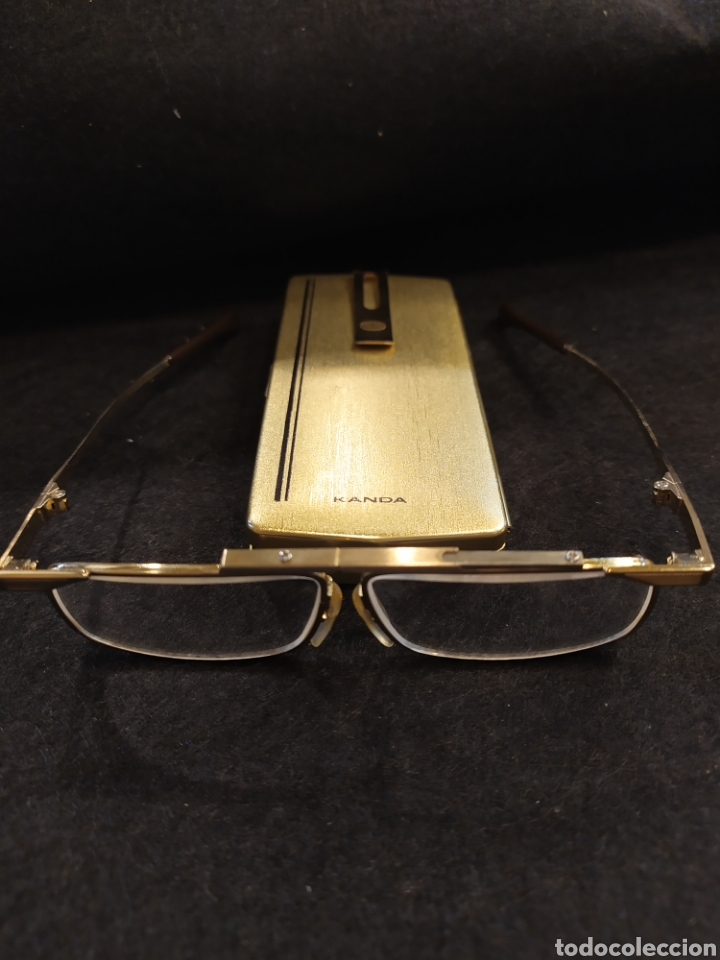 Antigüedades: Gafas plegables de lectura Kanda. Gafas vintage. - Foto 2 - 271373763