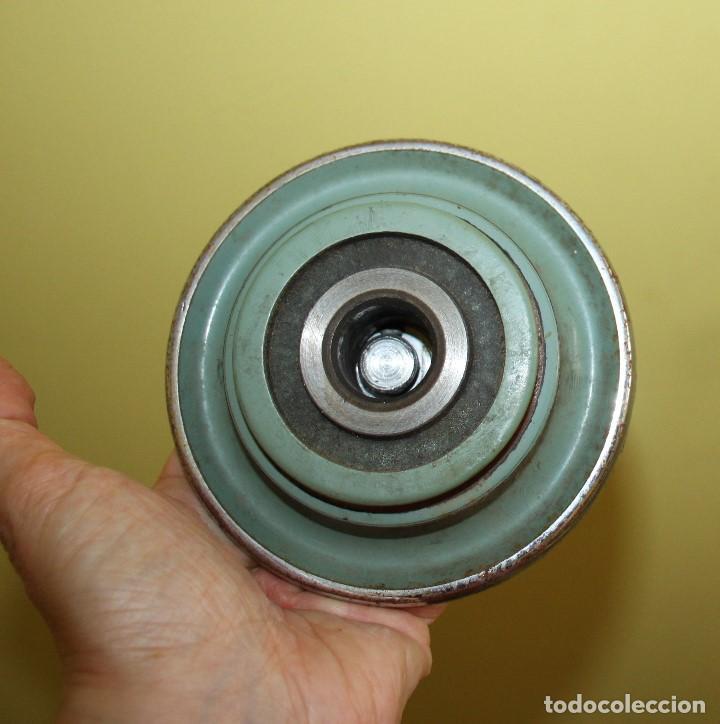 Antigüedades: Rueda de accionamiento de la máquina de coser Alfa 60 - Foto 3 - 271416468