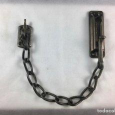 Antiquités: CIERRE CADENA DE SEGURIDAD PARA PUERTAS .. Lote 271906908