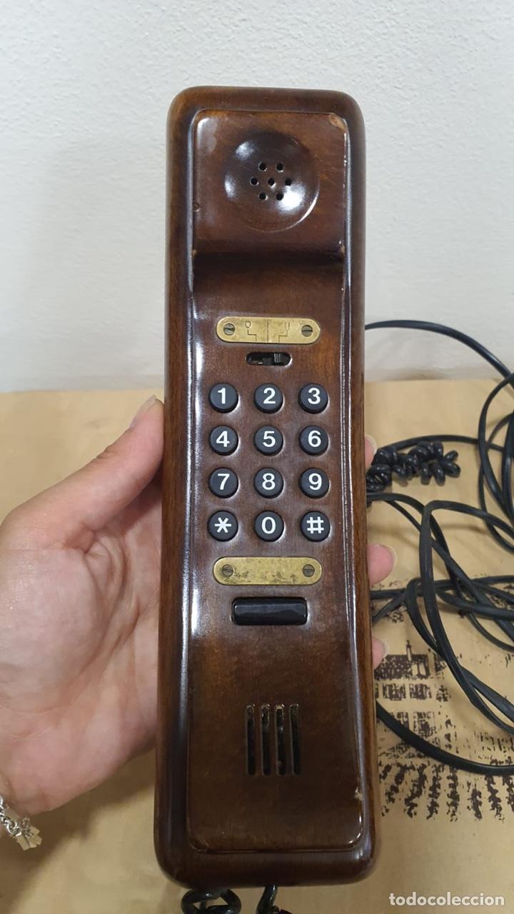 Teléfonos: Teléfono de madera solac - Foto 2 - 272303903