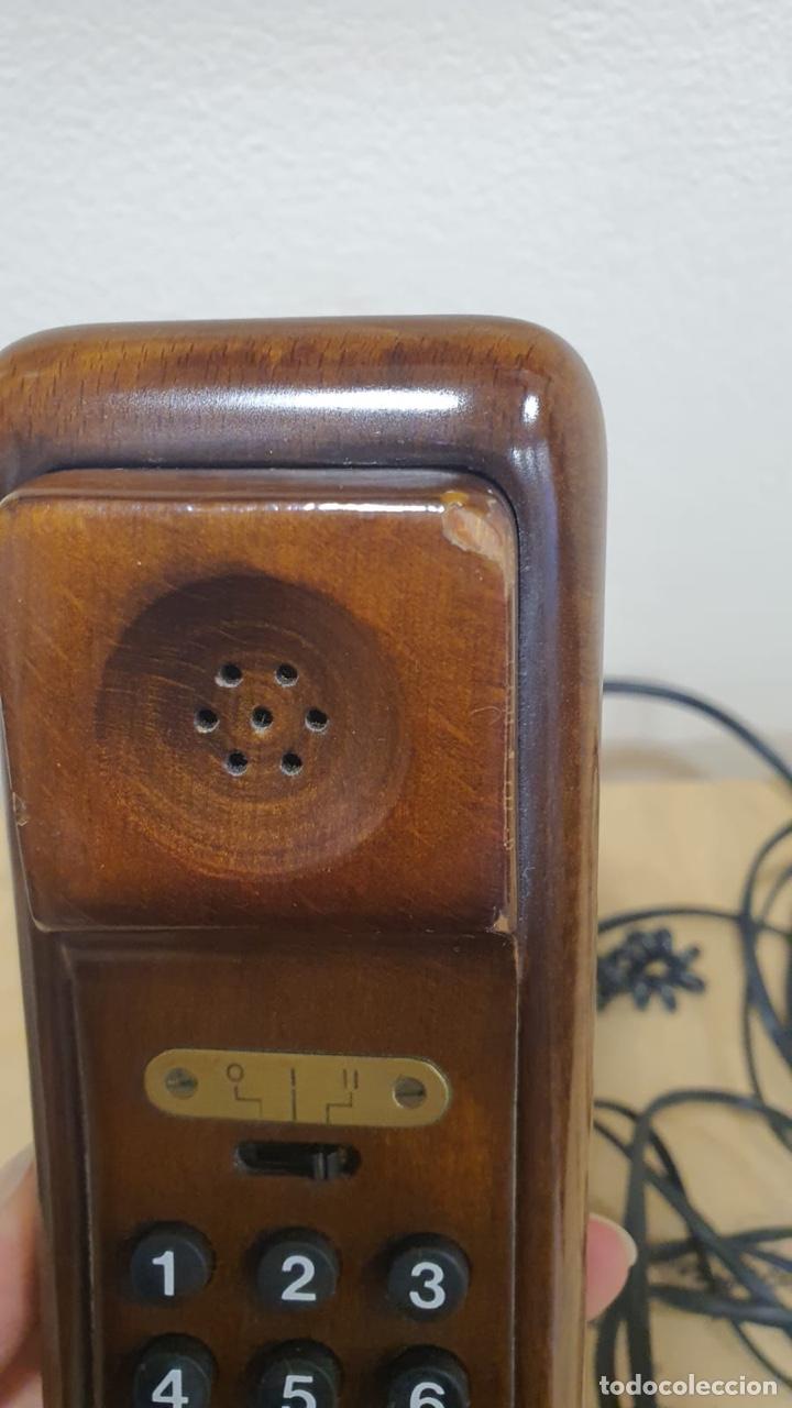Teléfonos: Teléfono de madera solac - Foto 3 - 272303903